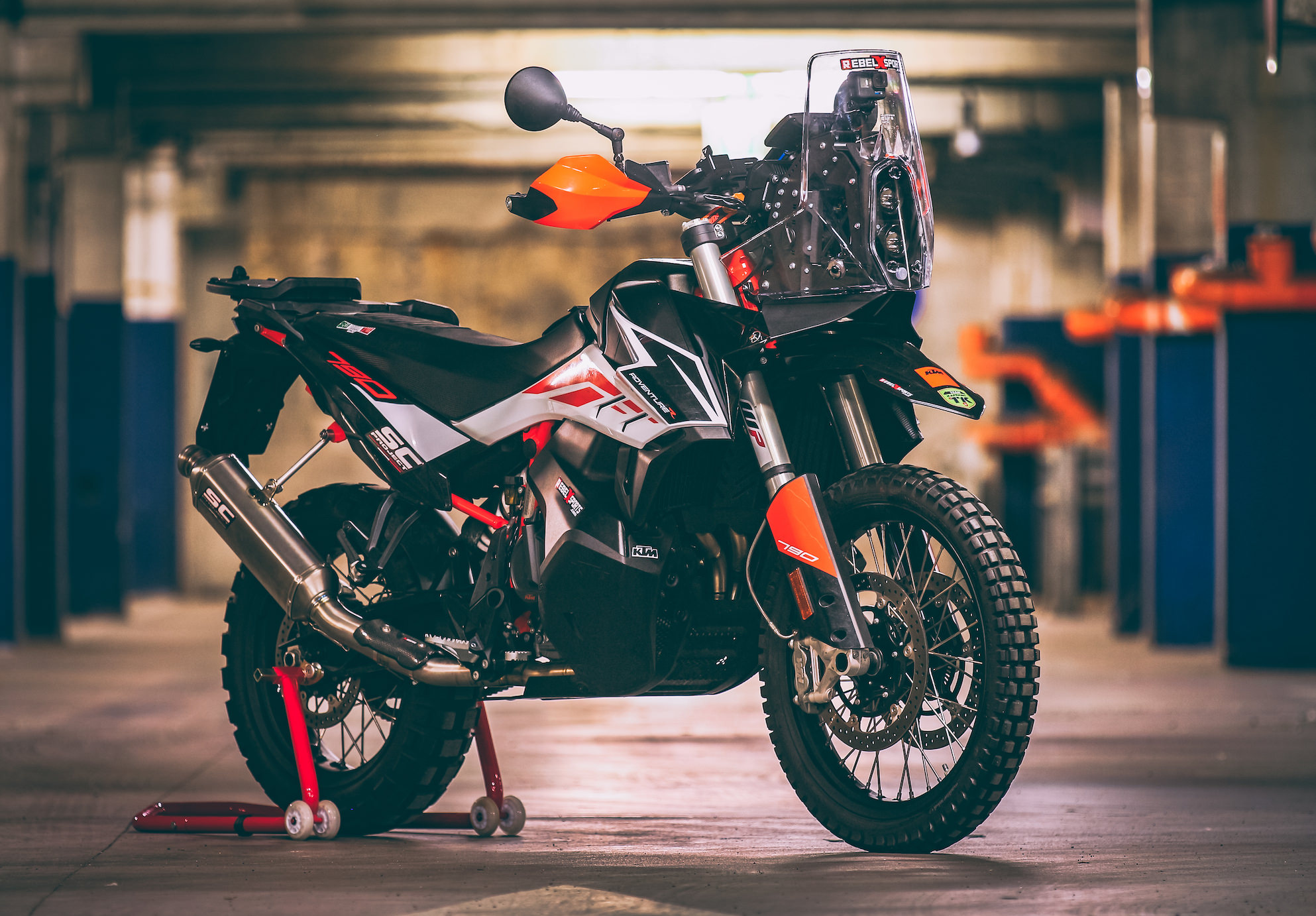 Ktm 790 Rally Kit Street Legal Rebel X Sports Srl