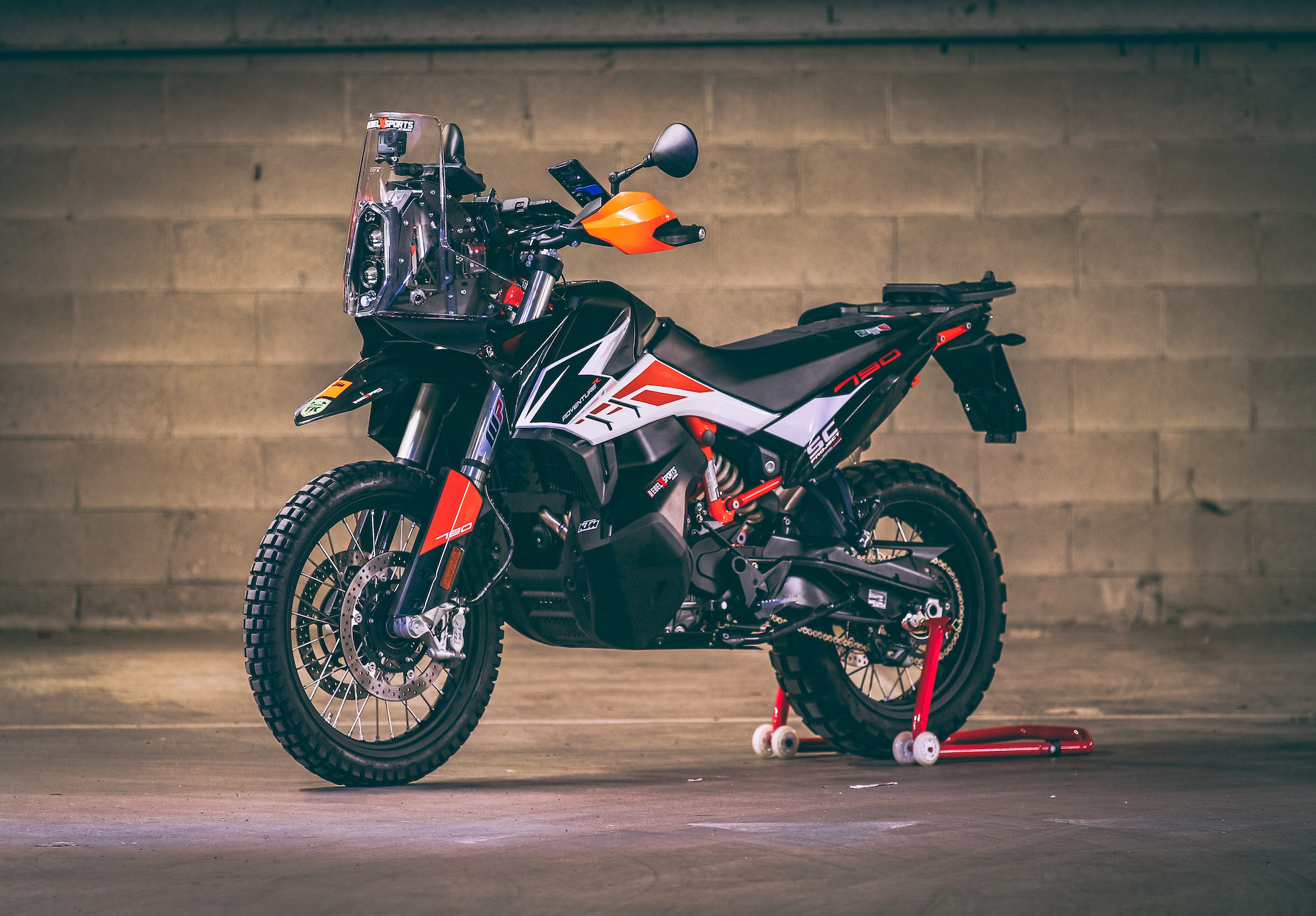 Ktm 790 Rally Kit  Street Legal   U2013 Rebel X Sports Srl